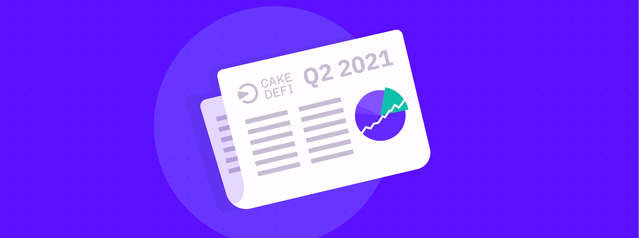 CEO Reflection Cake DeFi: Crypto Going Crazy, Cake DeFi Holding Strong