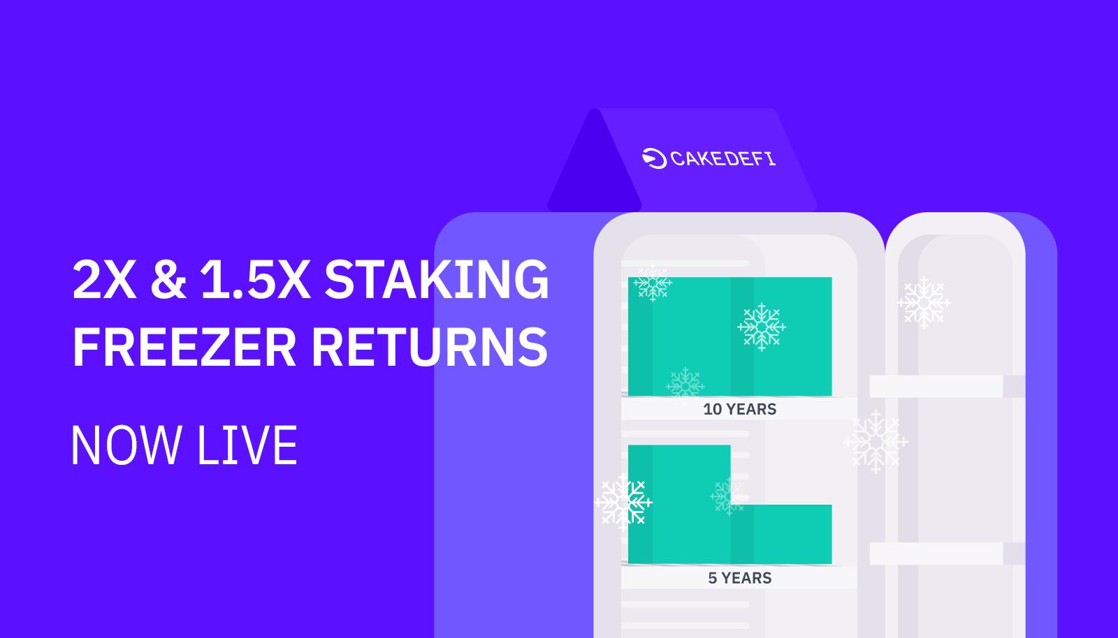 Introducing New 5 Year & 10 Year Freezer Rewards