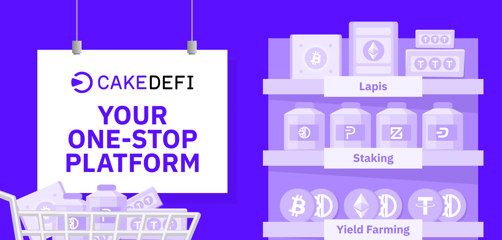 Cake as a One-Stop-Platform for all your finances -  Step 1: ✅