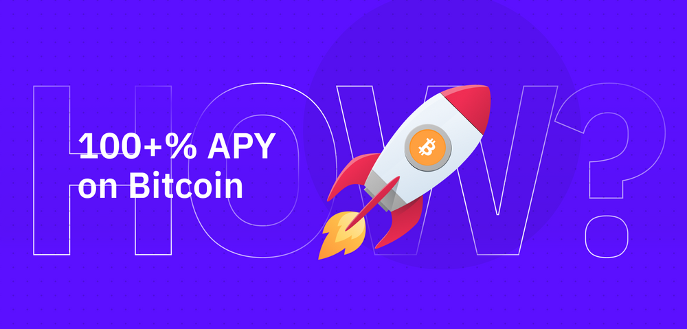 100+% APY with Bitcoin Liquidity Mining — How is That Possible?